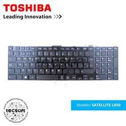 TECLADO PARA TOSHIBA SATELLITE L850 C850 H000045470 NSK-TVASU