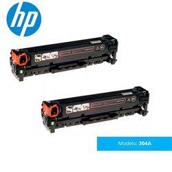 TONER HP LASERJET 304A CC530AD (Dual Pack) CP2025/CM2320 mfp
