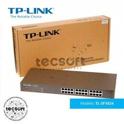 Switch de 24 puertos a 10/100Mbps para montaje en rack TL-SF1024