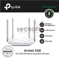 Router Inalámbrico Banda dual AC1200 Archer C50