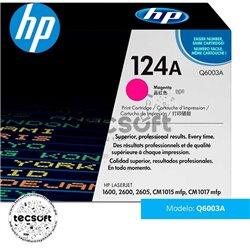 Cartucho original de tóner magenta HP 124A LaserJet (Q6003A)