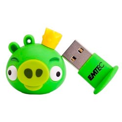 USB 8GB 2.0 Flash drive Angry Birds Rey Cerdo