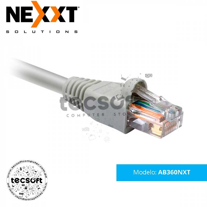 Patch Cord UTP multifilar Cat5e tipo CM  AB360NXT