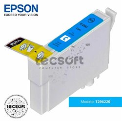 Cartucho Original Epson T296220 (296) Cyan
