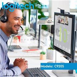 CÁMARA WEB C920s PRO