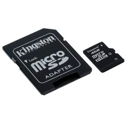Memoria Micro SD 4GB Class 4 Kingston SDC4