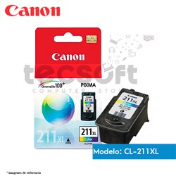 Cartucho de Tinta CANON 211XL Color Original (CL-211XL)