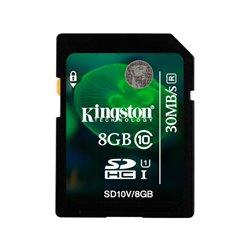Memoria SD 8GB Class 10 Kingston SD10V